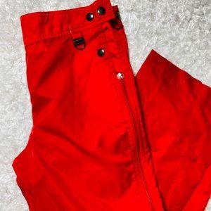 Vintage SKYR Full Zip Nylon Ski Pants Jrs M 8-10